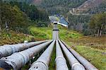 Water Pipeline in Western Tasmania, Australia