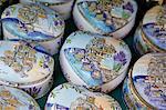 Souvenir pottery, Old Town, Budva, Montenegro, Europe