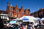Market Place, Ipswich, Suffolk, England, United Kingdom, Europe