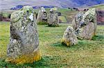 Castlerigg Stone Circle near Keswick, Lake District National Park, Cumbria, England, United Kingdom, Europe