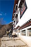 Namche Gompa (Monastery), Namche Bazaar, Solu Khumbu Region, Nepal, Himalayas, Asia
