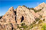 Narrow Road, Calanques de Piana, Corsica, France