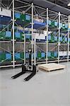 Warehouse of solar equipment