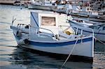 Fishing boat in marina
