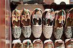 Arabian slippers for sale in the Bur Dubai Souk (market) in Dubai