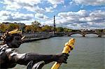 Pont Alexandre III, Seine, Eiffel Tower, Paris