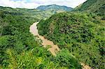 Rio Cauca south of Medellin, Colombia, South America