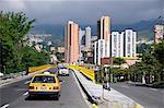 Traffic in Medellin, Colombia, South America
