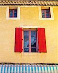 France, Provence, Orange, Colourful shop front