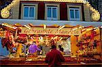 Dusseldorf, North Rhine Westphalia, Germany, One of the stalls in the Christmas market