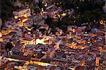 Taormina, Sicily, Italy, Detail of houses