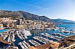 Hercules Port in La Condamine, Monaco, Europe