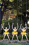 Sculpture La Dame des Etoiles by Christian Peschke in Princess Grace Avenue, Larvotto, Principality of Monaco, Europe