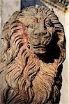 Lion sculpture in Leon, Nicaragua, Central America