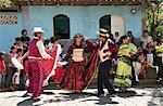 Dancing at the Fiesta, Catarina, Nicaragua, Central America