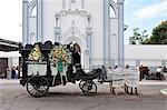 Horse drawn Hearse in Granada, Nicaragua, Central America