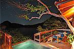 Balcony at the Aqua Wellness Resort, Nicaragua, Central America