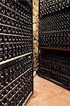 Wine cellar in La Rioja, Spain, Europe