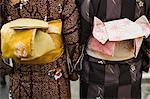 Women wearing kimonos