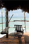 Beach hut in Quintana Roo, Caribbean