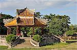 Pavillion at the Royal Citadel, Hue