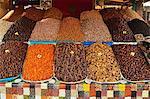 Fruit display, Marrakesh, Morocco, North Africa, Africa