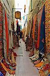 Display of merchandise, Essaouira, Morocco, North Africa, Africa