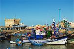 Port and Citadel, Essaouira, Atlantic Coast, Morocco, North Africa, Africa