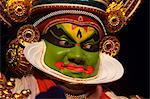 Spectacle of Kutiyattam, Indian theater in Kochi, Kerala, India, Asia