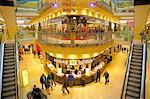 Thier Gallery, Shopping Centre at Christmas, Dortmund, North Rhine-Westphalia, Germany, Europe