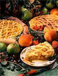 Lattice fruit Pies