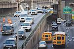 Traffic on New York City street
