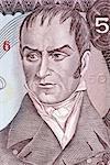 Camilo Torres Tenorio (1766-1816) on 50 Pesos Oro 1986 Banknote from Colombia. Colombian politician.