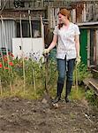 Portrait of a gardener