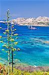 Italy, Sardinia, Olbia Tempio district, Arcipelago la Maddalena National Park. La Maddalena
