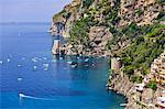 Italy, Campania, Salerno district, Peninsula of Sorrento, Positano.