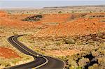 People riding bikes near Flagstaff, Arizona, USA