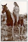 Apache Indian, Apache Spirit Ranch, Tombstone, Arizona, USA
