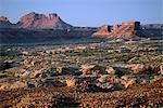 Desert Landscape near the town of Hanksville, Southeast Utah, along highway 95, Colorado Plateau,  Utah, USA