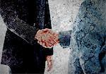 Business agreement between two men