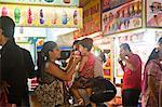 People at an ice cream parlor, Juhu Beach, Mumbai, Maharashtra, India