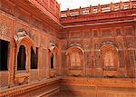 Carving on a fort, Meherangarh Fort, Jodhpur, Rajasthan, India
