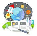 Illustration on Universe studies