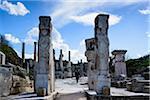 Turkey, Aegean Region, Ephesus, Hercules Gate