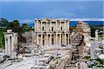 Turkey, Aegean Region, Ephesus, Celsus Library (Izmir Ili district)