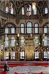 Turkey, Marmara, Istanbul, Interior of Fatih Mosque