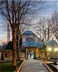 Turkey, Marmara, Istanbul, Sultanahmet Square, Hagia Sophia (Ayasofya) at Dawn