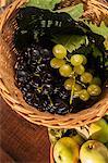 Fresh Fruits In Basket, Croatia, Slavonia, Europe