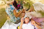 Croatia, Dalmatia, Young people at the seaside, having fun