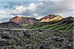 Lava Fields and Mountains, Landmannalaugar, Iceland